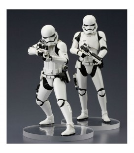Pack Collector de 2 Statuettes First order Stormtrooper