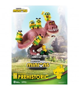 Diorama D-Stage Minions Prehistoric