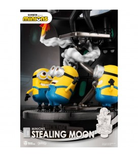 Diorama D-Stage Minions Stealing Moon