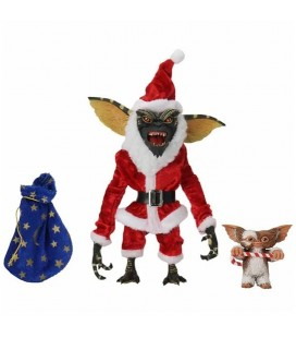 Santa Stripe & Gizmo Figurine Ultimate NECA