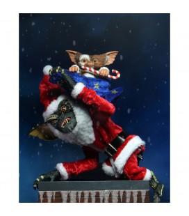 Santa Stripe & Gizmo Figurine Ultimate NECA