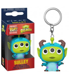 Pocket Pop! Keychain - Sulley (Alien Remix)