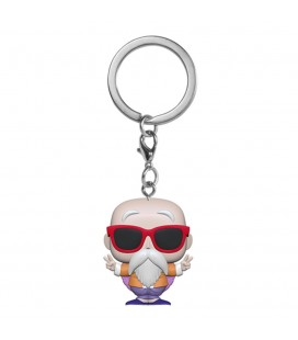 Pocket Pop! Keychain - Master Roshi (Peace Sign)
