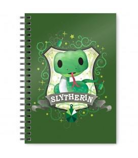 Cahier à Spirale Slytherin A5