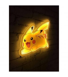 Applique murale Néon Pikachu