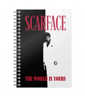Cahier à Spirale The World Is Yours A5