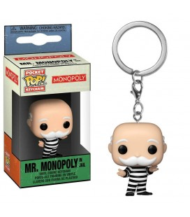 Pocket Pop! Keychain - Mr. Monopoly In jail