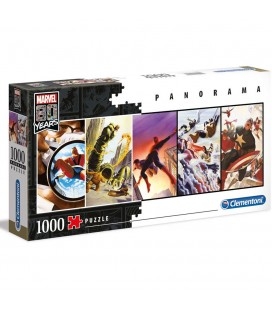 Puzzle Panorama Characters Marvel 80Years (1000)