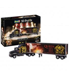 Puzzle 3D Queen truck & trailer 50 Years