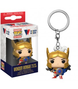 Pocket Pop! Keychain - Wonder Woman (Challenge Of The Gods)
