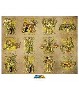 Collector Artprint Gold Clothes