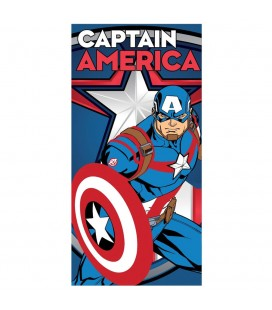 Serviette de Bain Captain America