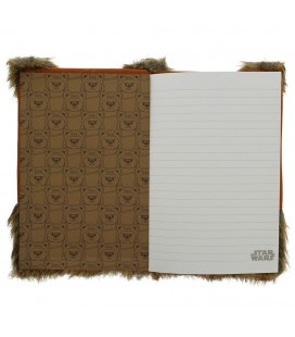 Journal / Notebook A5 Premium Ewok (Fluffy)