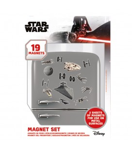 Set de 19 Magnets Death Star Battle