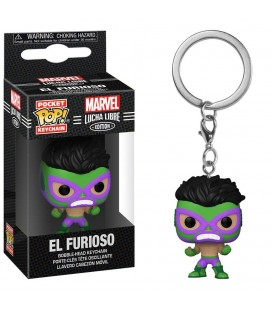 Pocket Pop! Keychain - El Furioso (Hulk)