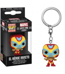 Pocket Pop! Keychain - El Heroe Invicto (Iron Man)
