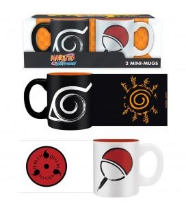 Set de 2 Minis Mugs Konoha & Uchiha