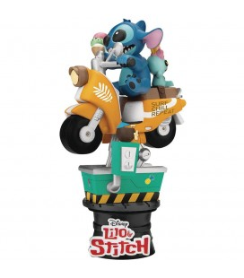 Diorama Stitch Coin Ride