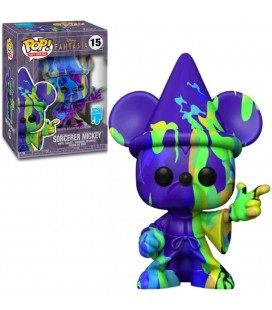 Pop! Disney Artist Series Sorcerer Mickey (Pop! Stacks incluse) [15]