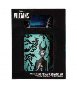 Mug Funko Maleficent et son sous-verre