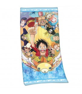 Serviette de Plage / Bain Straw Hat Pirates