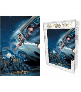 Tin Book Puzzle Lenticulaire 3D Flying (300)