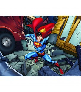 Puzzle Lenticulaire 3D Superman Super Strenght City (500)