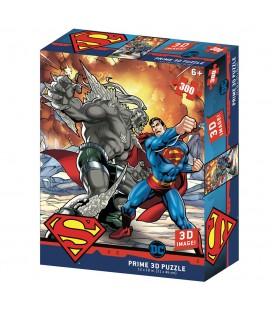 Puzzle Lenticulaire 3D Superman Vs Doomsday (300)