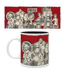 Mug Luffy's crew style japonais