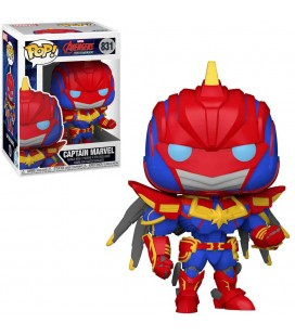 Pop! Captain Marvel (Avengers Mech Strike) [831]