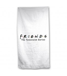 Serviette de Plage / Bain Friends Logo