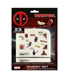 Set de 23 Magnets Deadpool