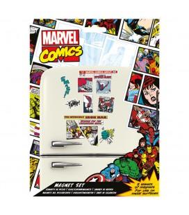 Set de Magnets Marvel Comics