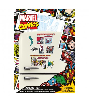 Set de Magnets Marvel Comics