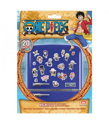 Set de 20 Magnets One Piece Chibi