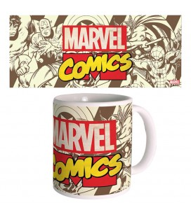 Mug Retro Marvel Comics