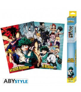 Set de 2 Posters MHA Artworks 52*38