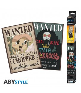 Set de 2 Posters Wanted Brook & Chopper 52*35