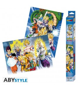 Set de 2 Posters Groupes 52*38