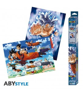 Set de 2 Posters Goku & Friends Artworks 52*38
