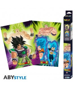Set de 2 Posters Broly Artworks 52*38