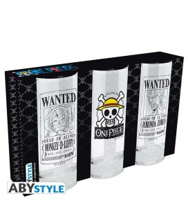 Set de 3 Verres One Piece