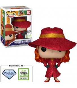 Pop! Carmen Sandiego ECCC 2019 (Diamond) [662]
