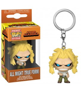 Pocket Pop! Keychain - All Might (True Form)