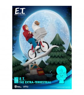 Diorama D-Stage Iconic Scene E.T. l´extra-terrestre