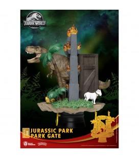 Diorama D-Stage Park Gate Jurassic Park