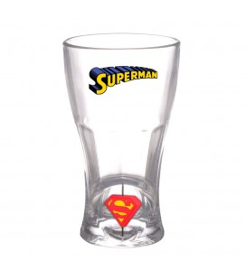 Verre 3D Logo Spinner Superman