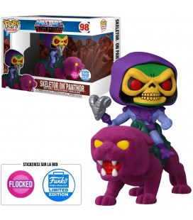 Pop! Rides Skeletor On Panthor (Flocked) Edition Limitée [98]