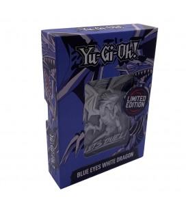 Carte Dieu Dragon Blanc aux yeux bleus Collector LTD Métal