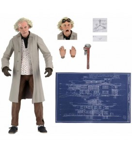 Doc Brown Figurine Ultimate NECA